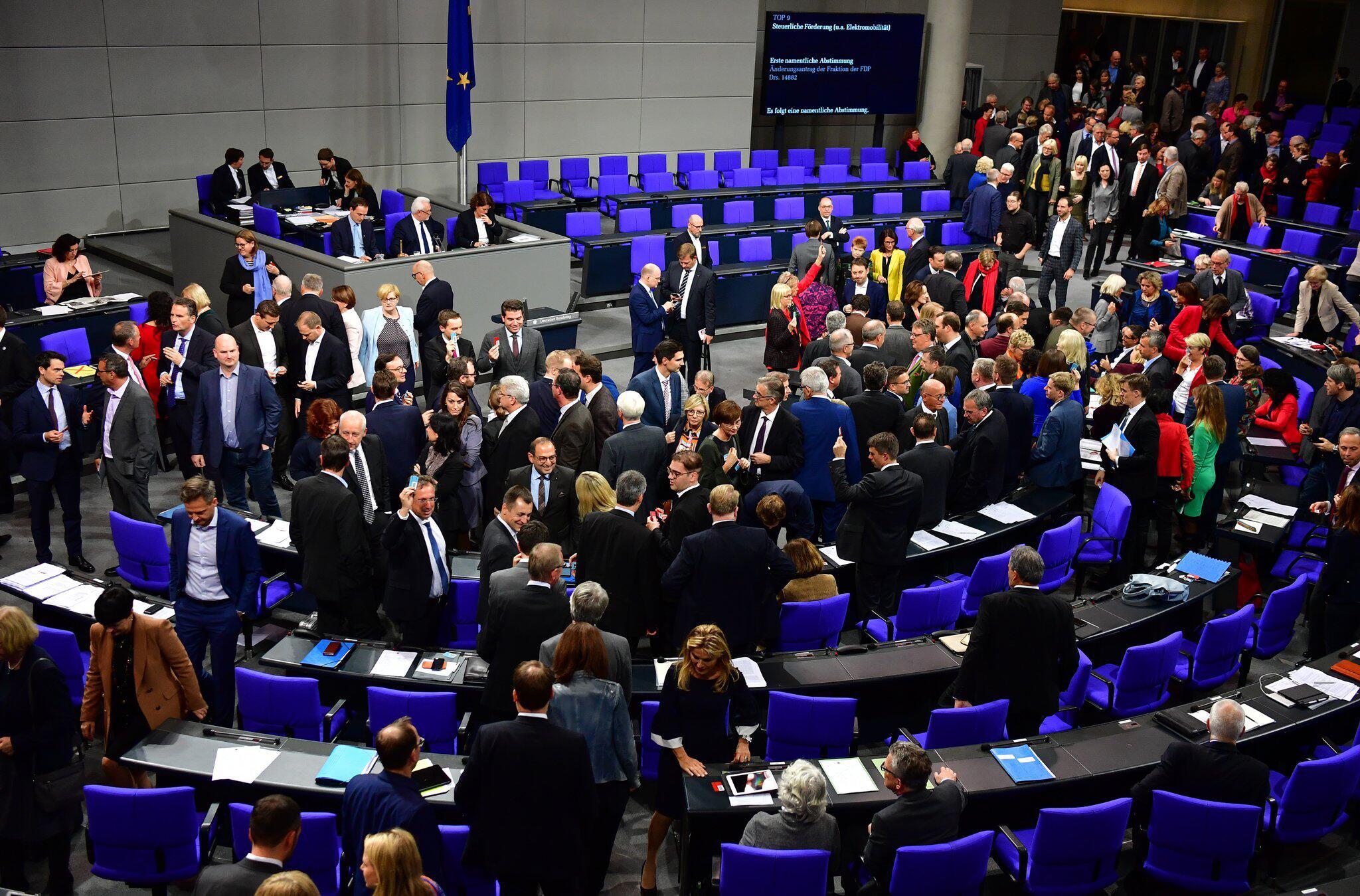 Bild zu Bundestag