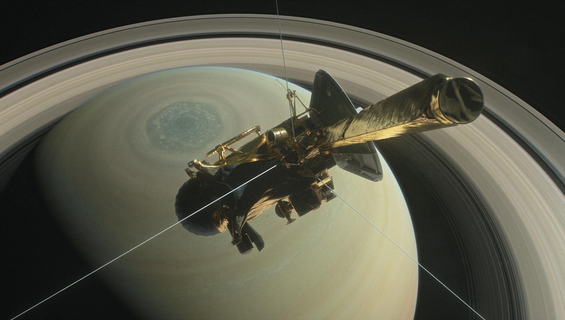 Bild zu Cassini
