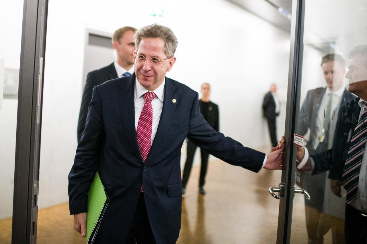 Bild zu Verfassungschutzpräsident Hans-Georg Maaßen