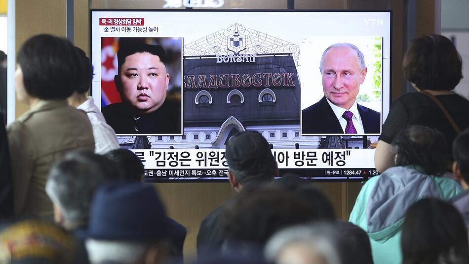 Nordkorea bestätigt «baldiges» Gipfeltreffen in Russland