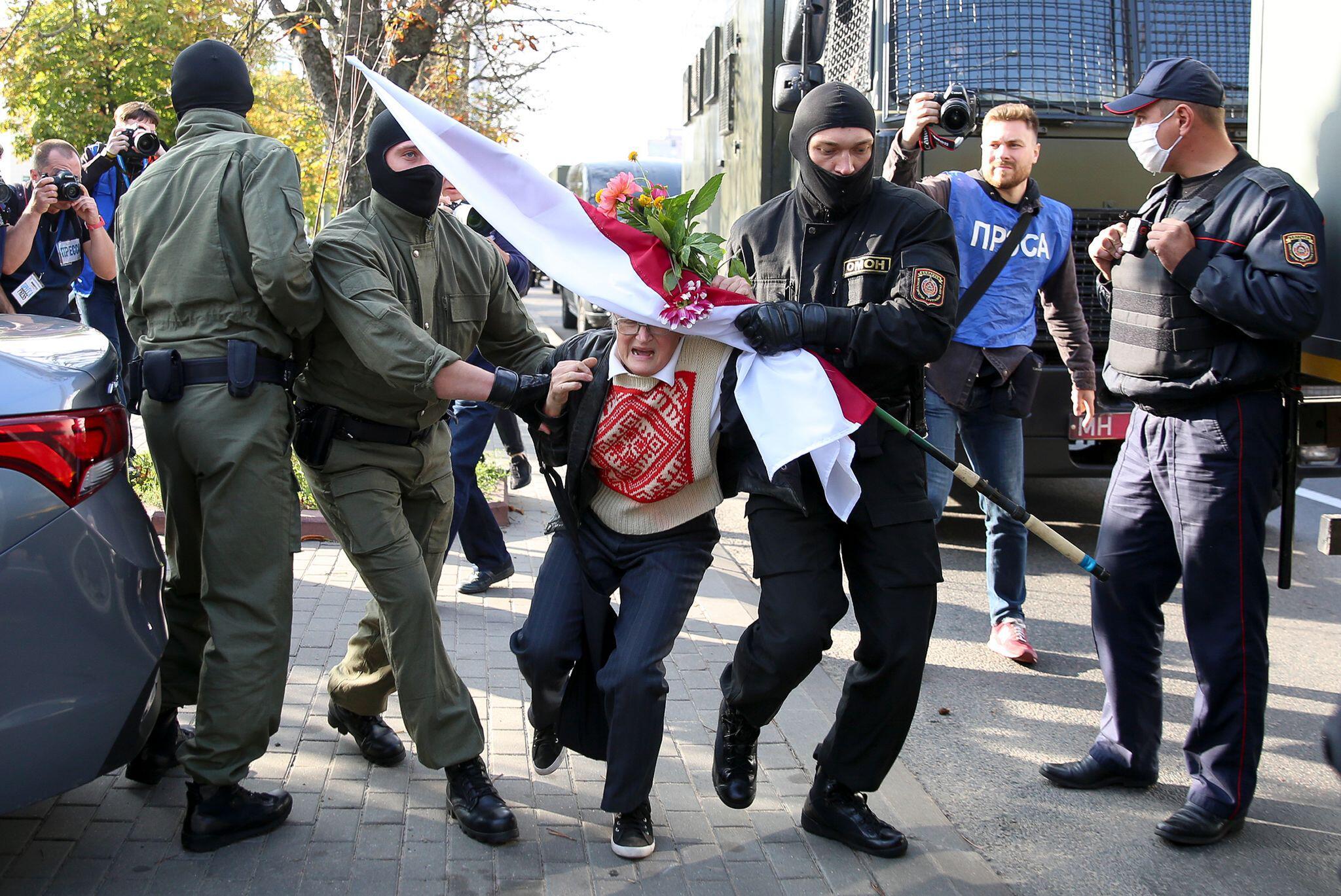 Bild zu Proteste in Belarus
