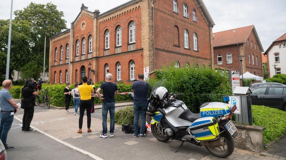 Zwei Tote nach Schüssen am Amtsgericht Celle