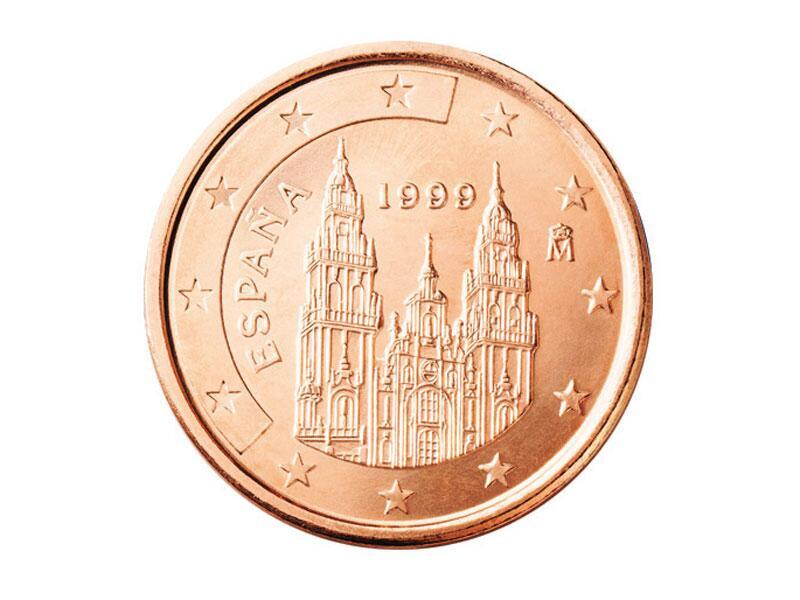 Bild zu 1-Cent-Münze aus Spanien