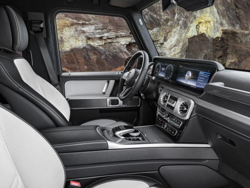Bild zu Innenansicht der Mercedes G-Klasse