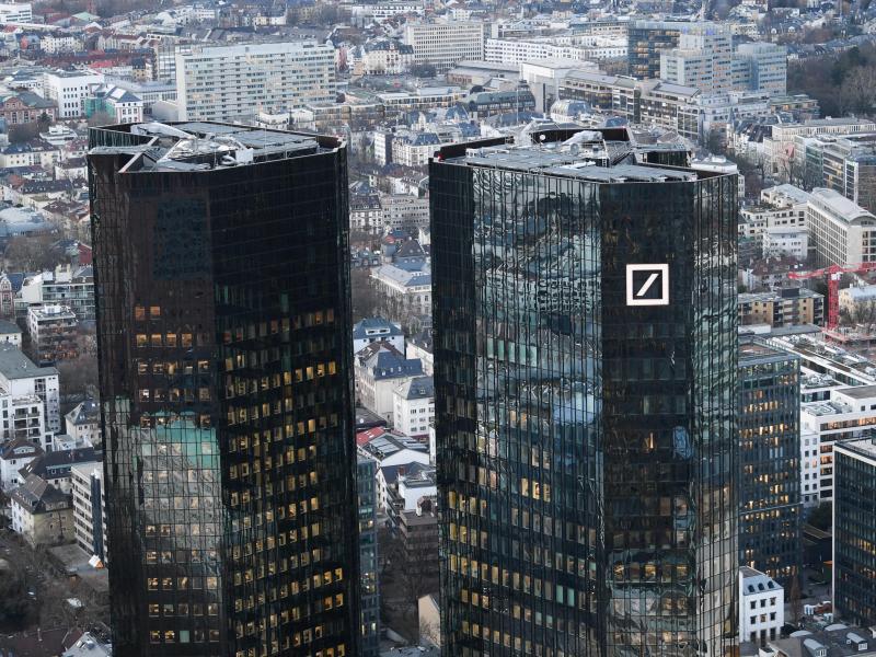 Bild zu Deutsche Bank in Frankfurt