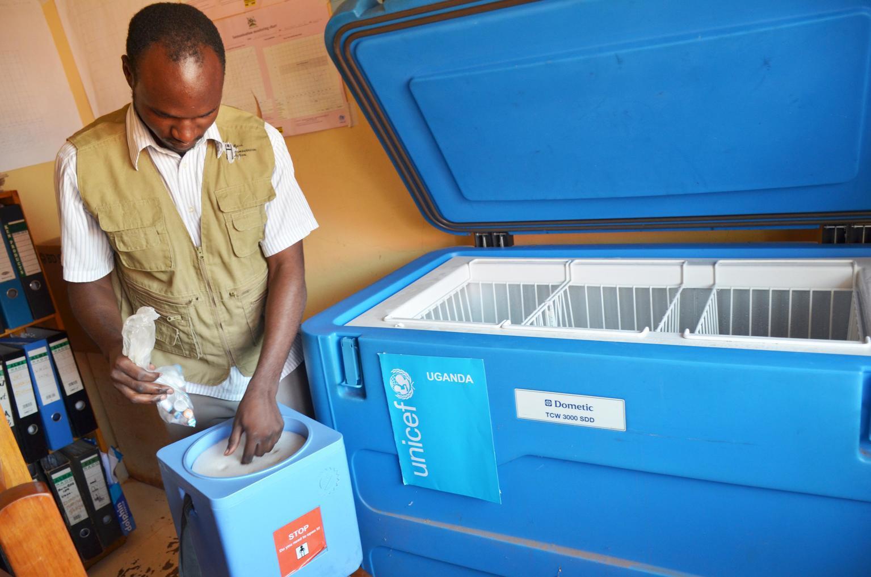 Bild zu Impfung, Uganda