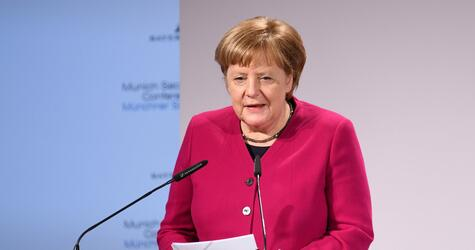 55. Munich Security Conference, München, Angela Merkel, Rede, Bundeskanzlerin
