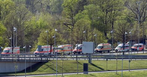 Nach dem Busunglück auf Madeira - Rücktransport der Verletzten