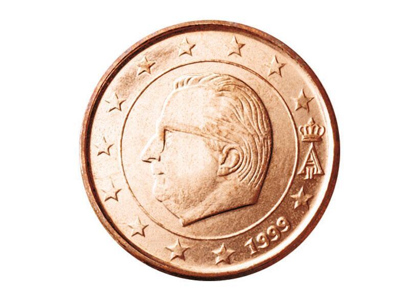 Bild zu 1-Cent-Münze aus Belgien