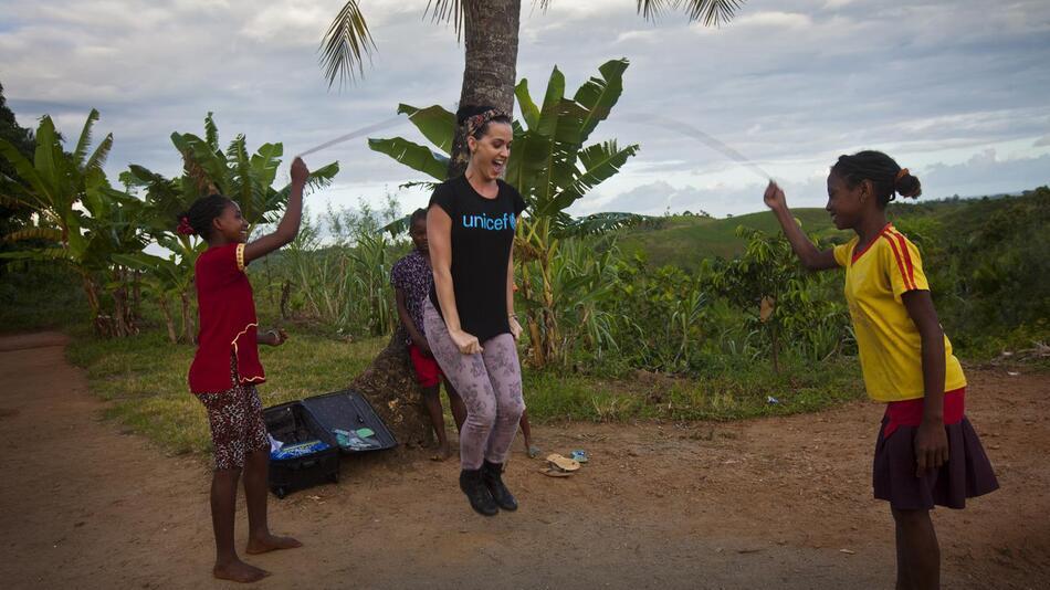 Katy Perry in Madagaskar