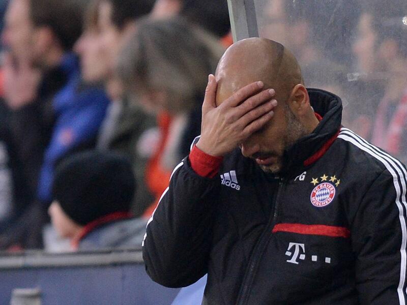 Bild zu Pep Guardiola: Testspiel Red Bull Salzburg - FC Bayern München