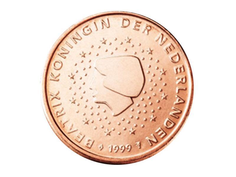 Bild zu 1-Cent-Münze aus den Niederlanden