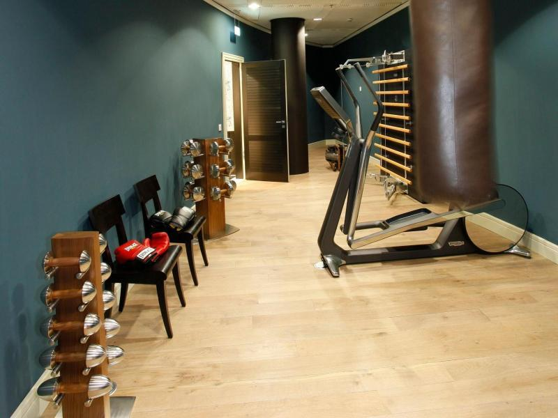 Bild zu Fitnessraum am Frankfurter Flughafen