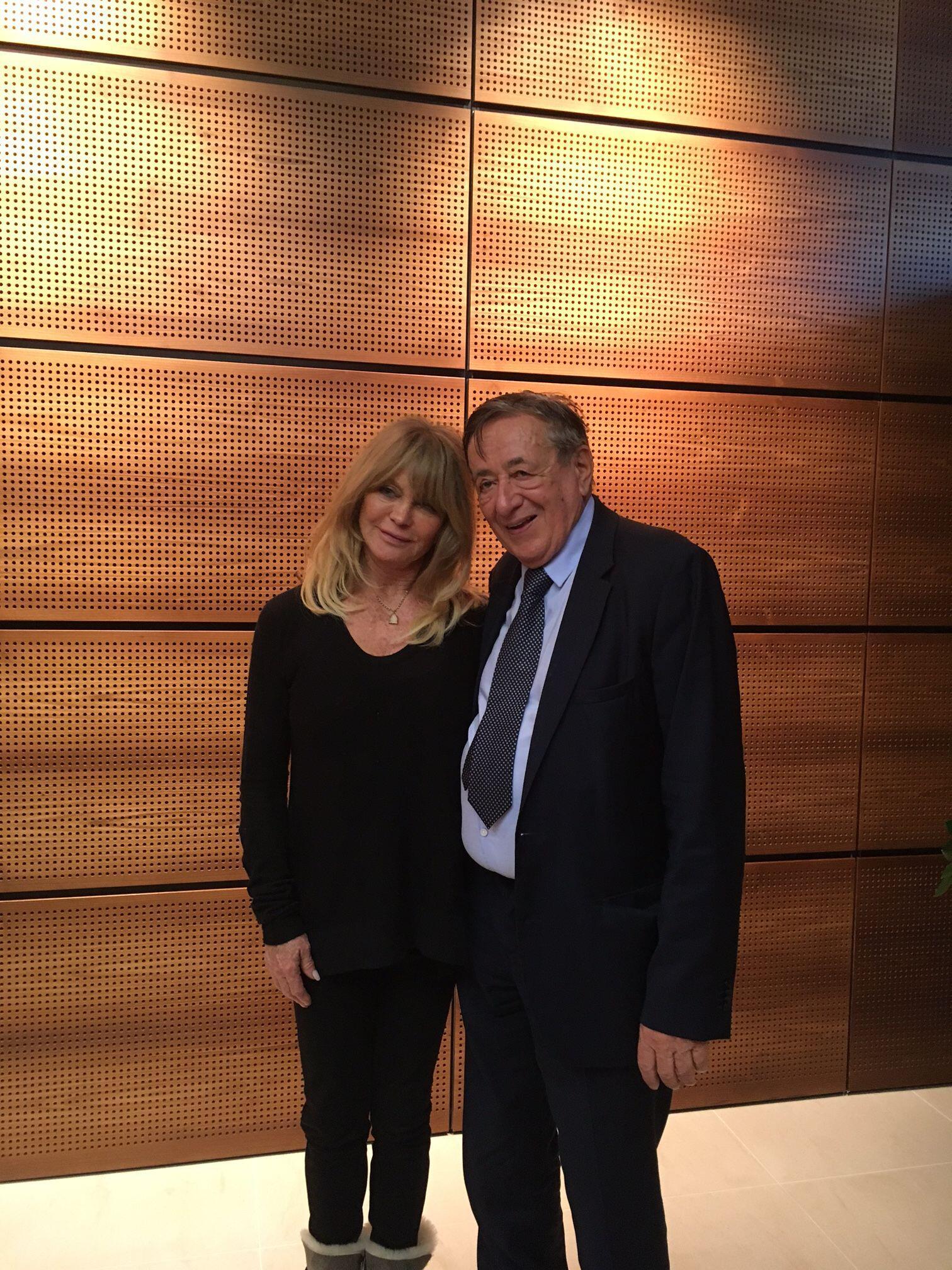 Bild zu Goldie Hawn und Richard Lugner