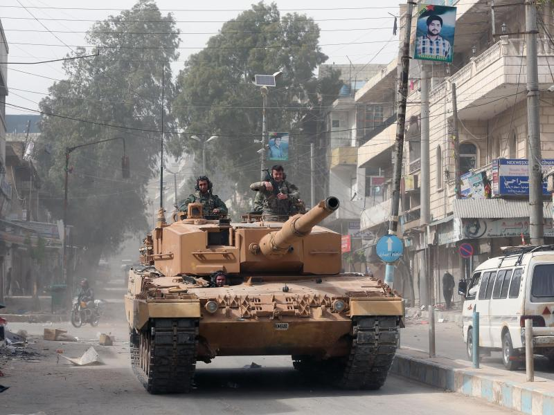 Bild zu TürkischerPanzer in Afrin