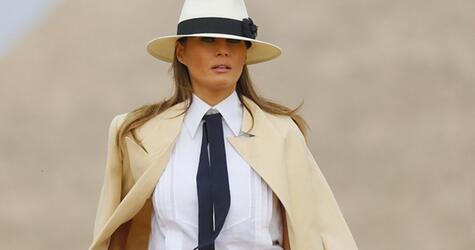 First Lady Trump besucht Ägypten
