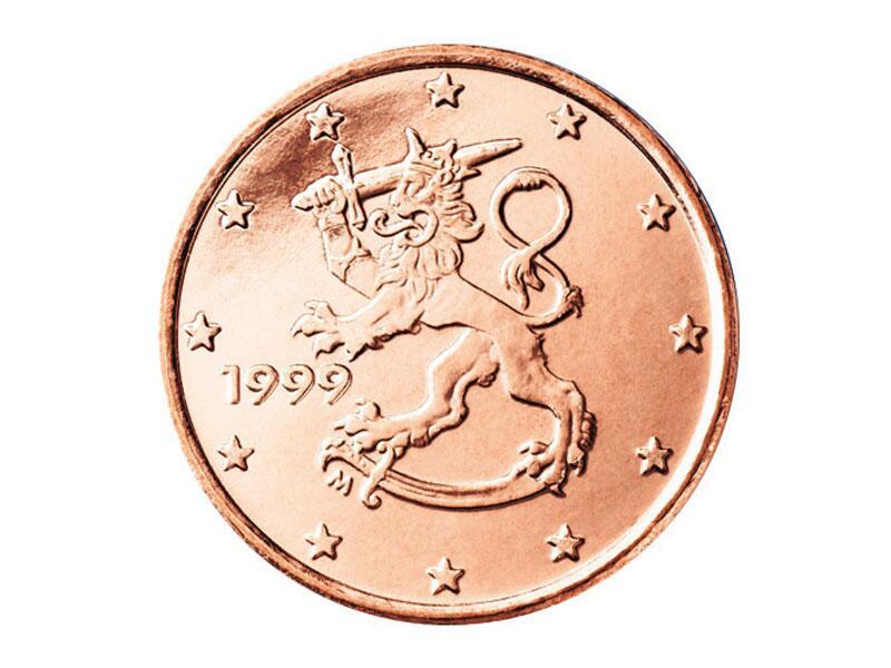 Bild zu 1-Cent-Münze aus Finnland