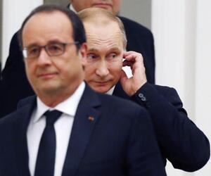 Hollande und Putin