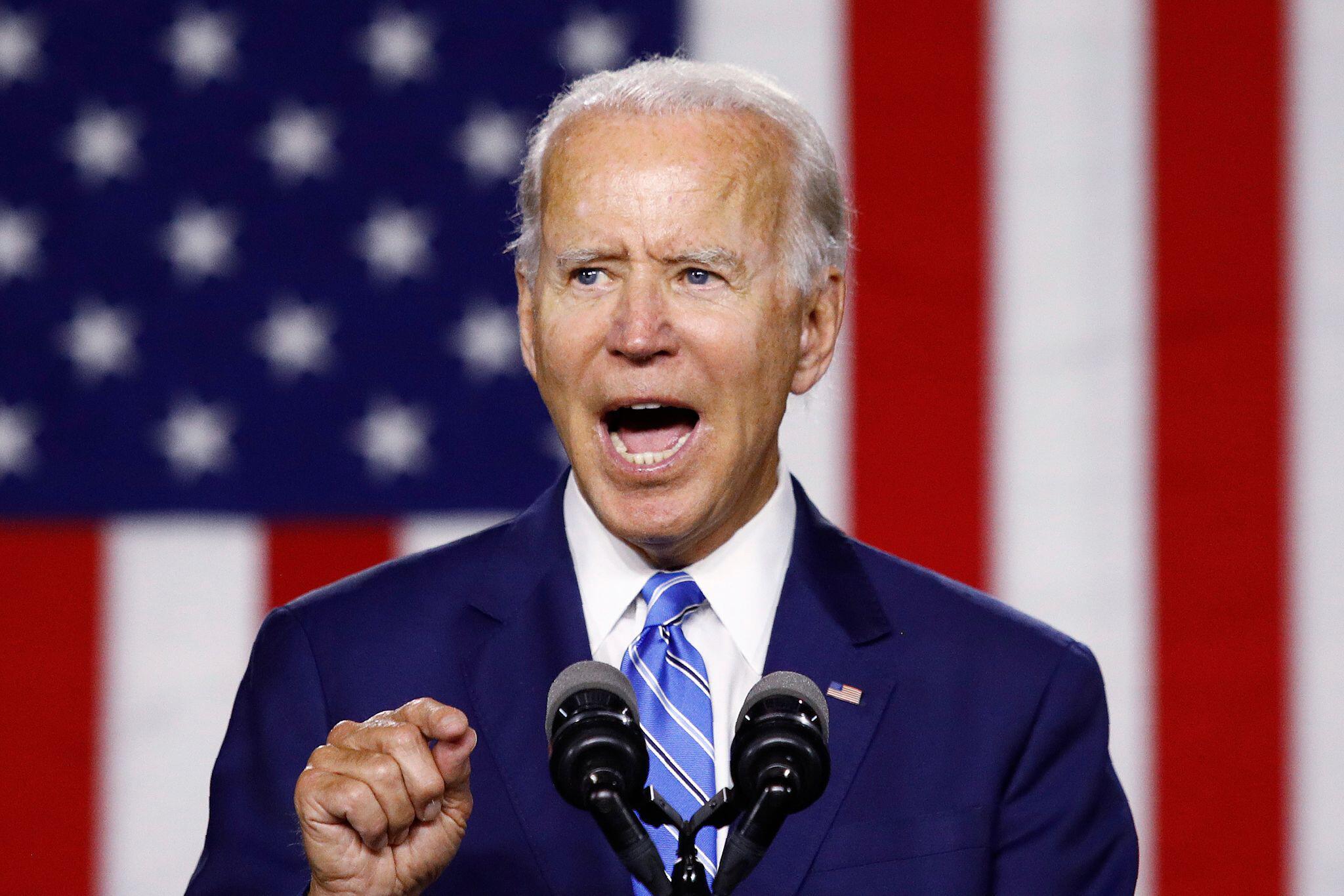 Bild zu Joe Biden. Rede