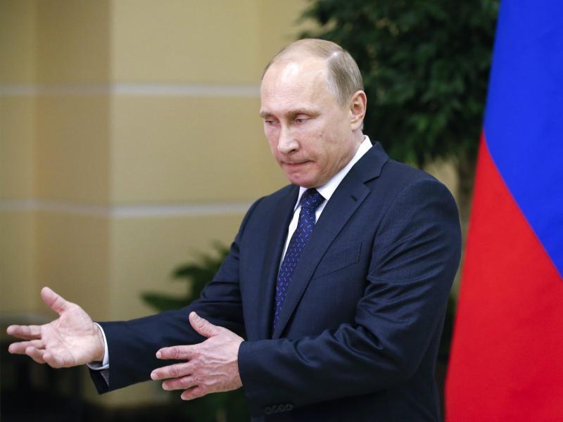 Bild zu Putin