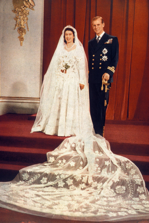 Bild zu Elizabeth II. Hochzeit Prinz Phillip