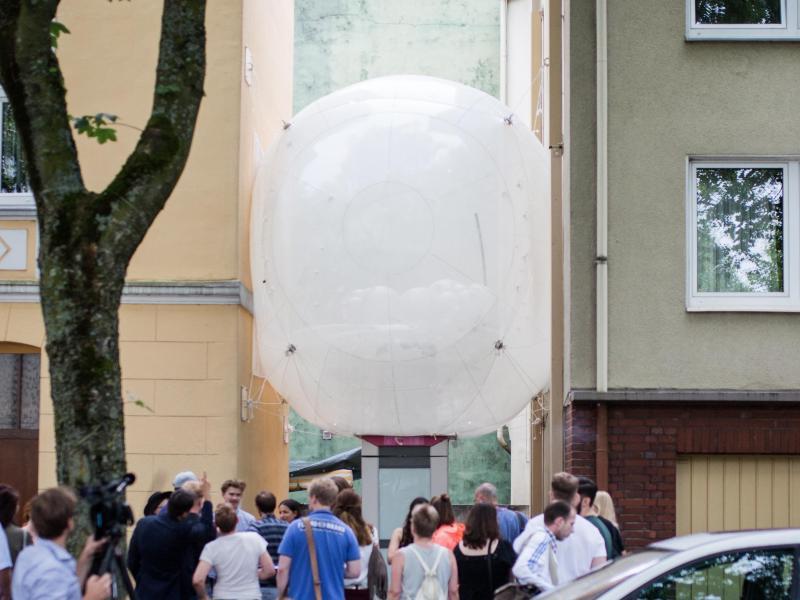 Bild zu Bochumer Studierende bauen Wohnblase