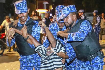Bild zu Neues Verfahren für verurteilten Ex-Präsidenten der Malediven