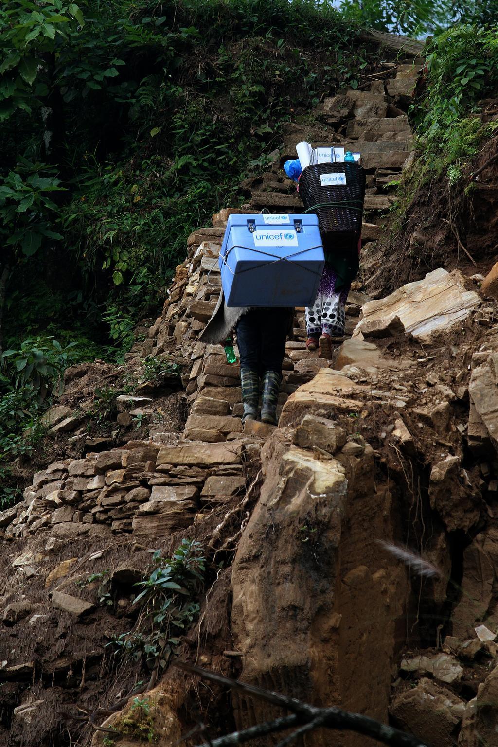 Bild zu Nepal, Impfen