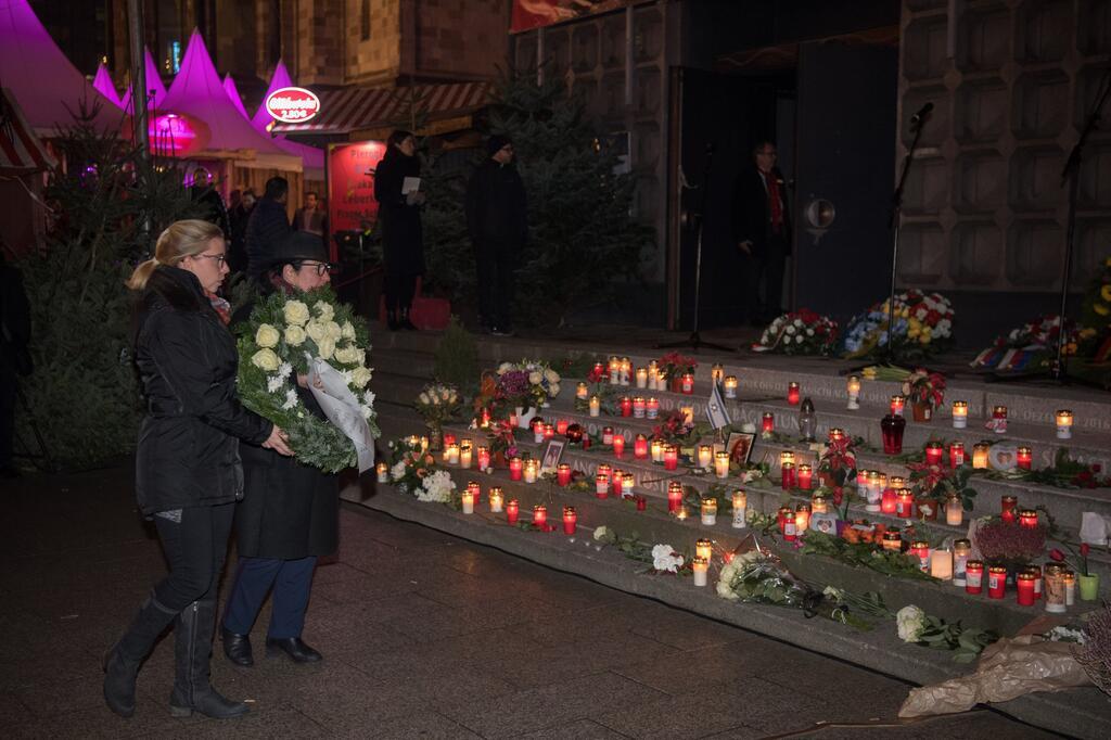 Gedenken an Opfer des Terroranschlags an der Gedächtniskirche