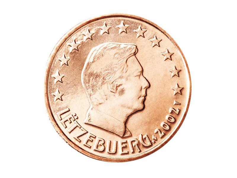 Bild zu 1-Cent-Münze aus Luxemburg