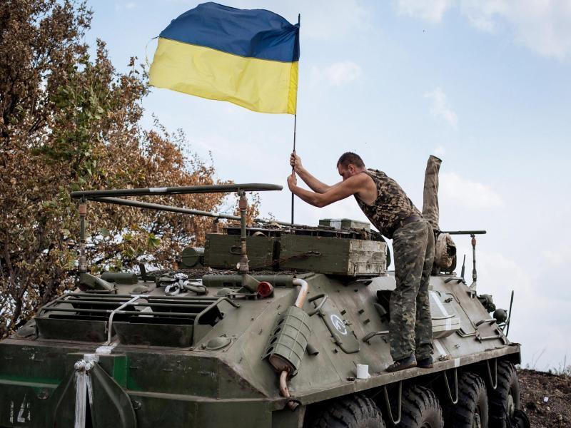 Bild zu Ukrainische Armee