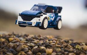 Nicht nur für Kinder: Ford Fiesta WRC und 1968er Mustang als LEGO-Collection