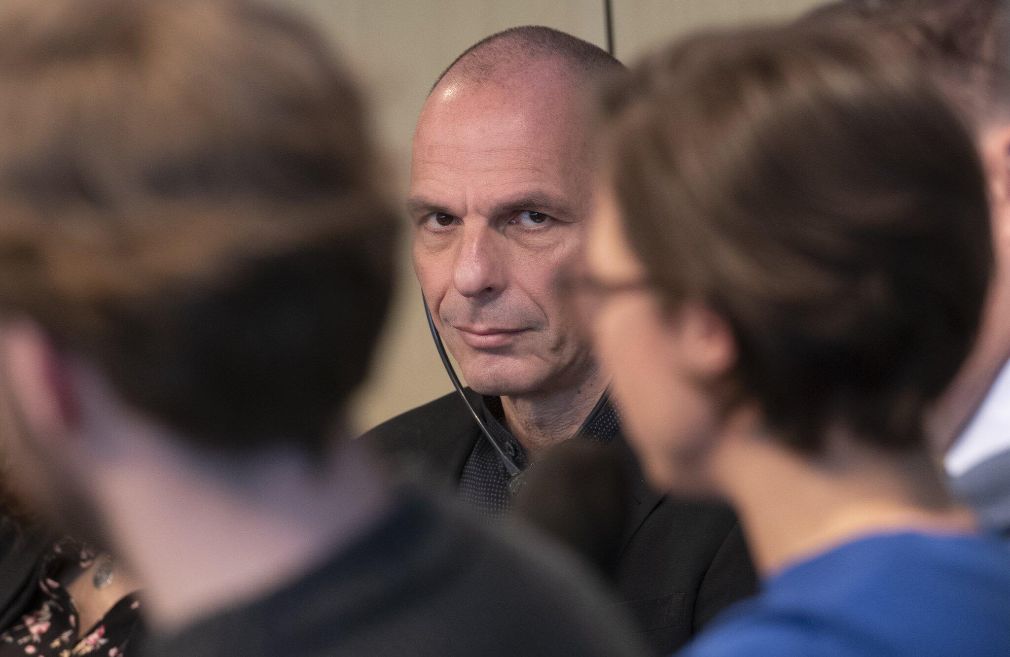 Bild zu Gianis Varoufakis visits Berlin