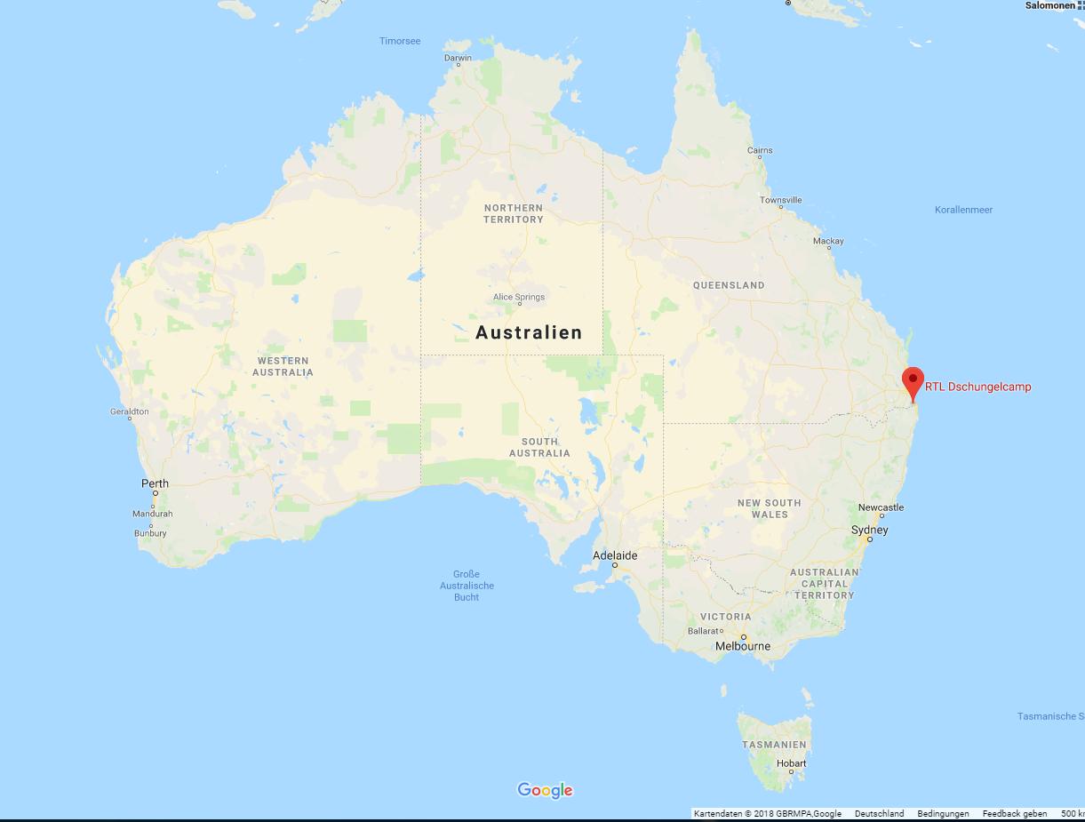 Bild zu RTL, Dschungelcamp, Lage, Australien, Brisbane, Gold Coast