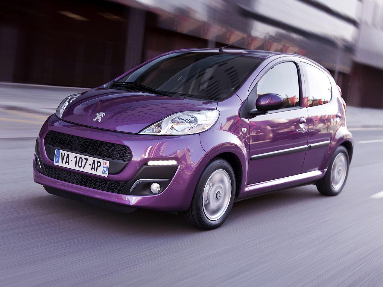 Bild zu Platz 8: Peugeot 107