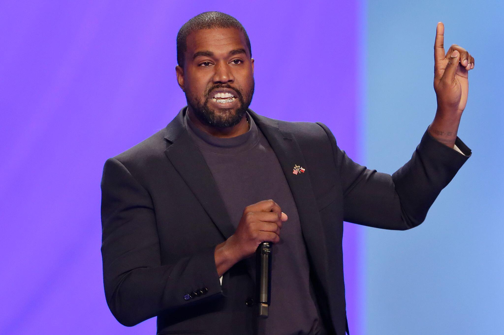 Bild zu US-Rapper Kanye West