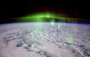 aurora polarlichter iss