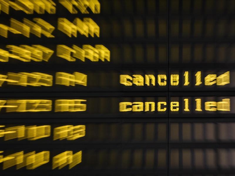 Bild zu Flug annulliert