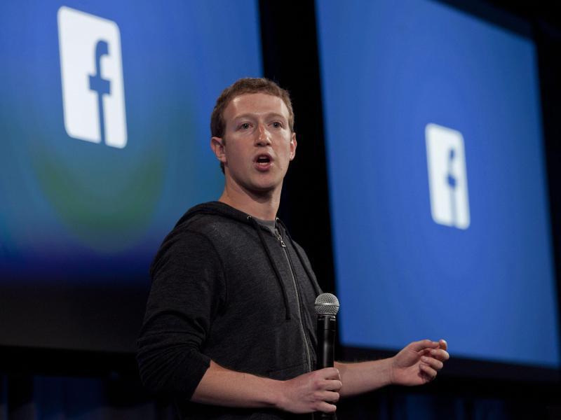 Bild zu Mark Zuckerberg