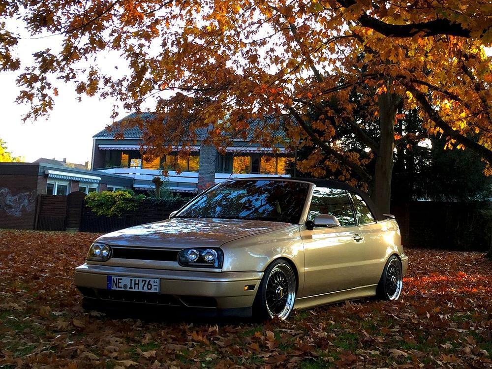 Bild zu VW Golf 3 Cabrio von Ingo Heydkamp