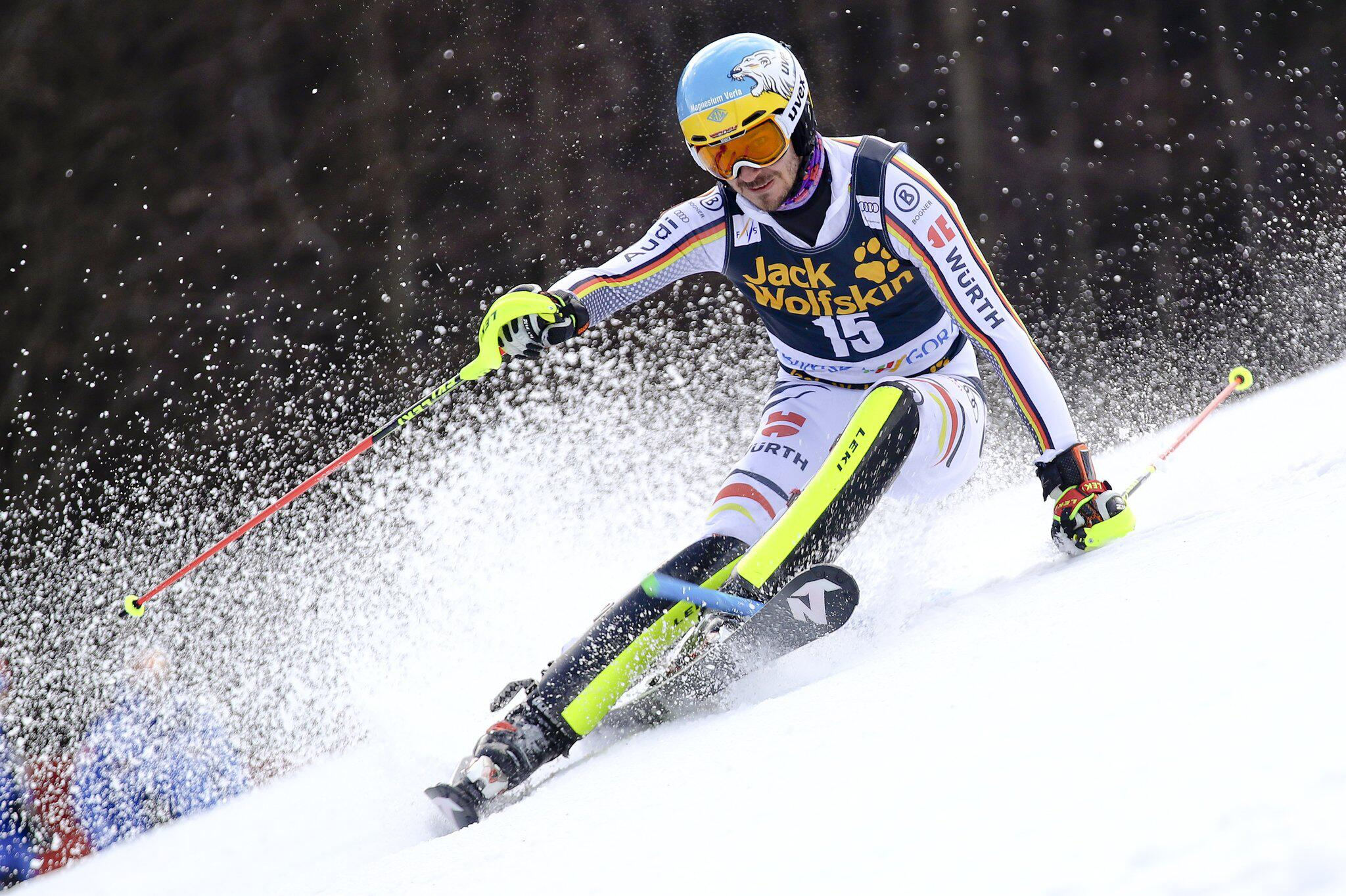 Bild zu Felix Neureuther, Ski alpin, Ski, Weltcup, Slalom, Kranjska Gora