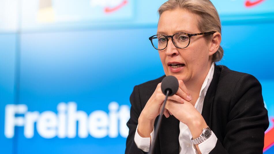 Landtagswahl Baden-Württemebrg - AfD stellt Wahlprogramm vor