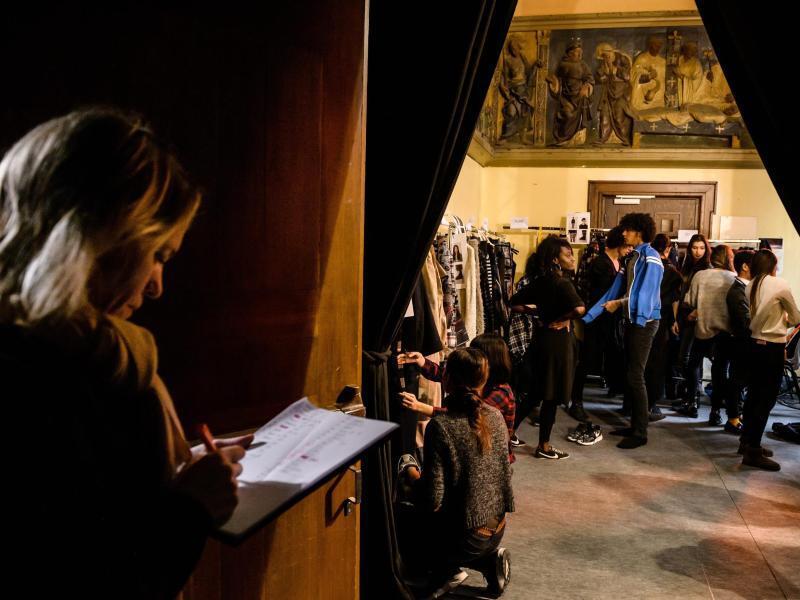 Bild zu Fashion-Choreographen im Hintergrund