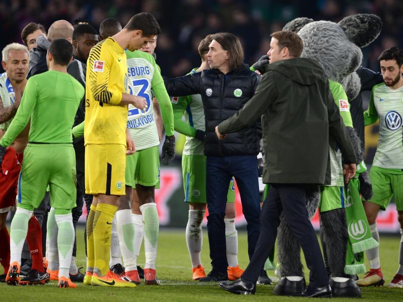 Bild zu VfL Wolfsburg - Bayern München