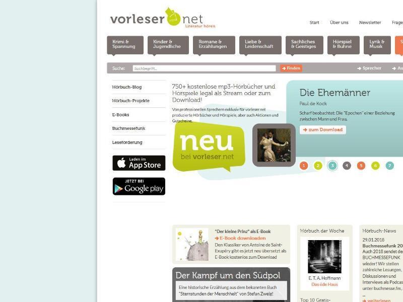 Bild zu Vorlesen.net