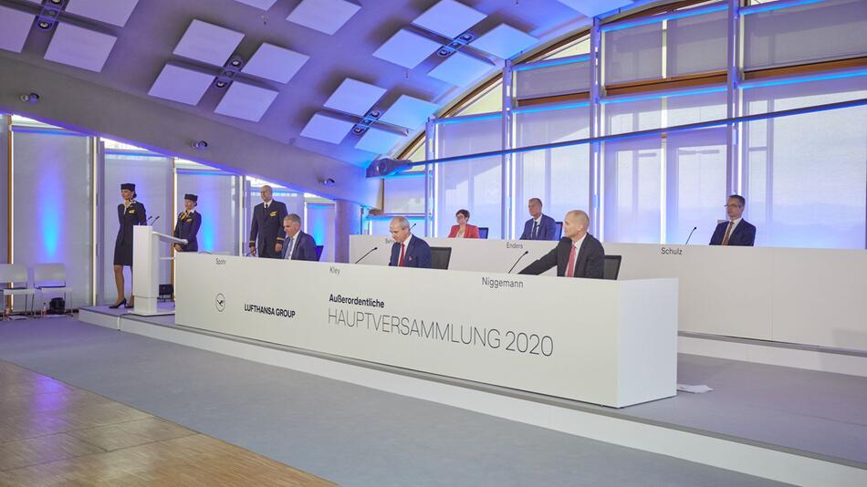 Außerordentliche Hauptversammlung der Deutschen Lufthansa AG