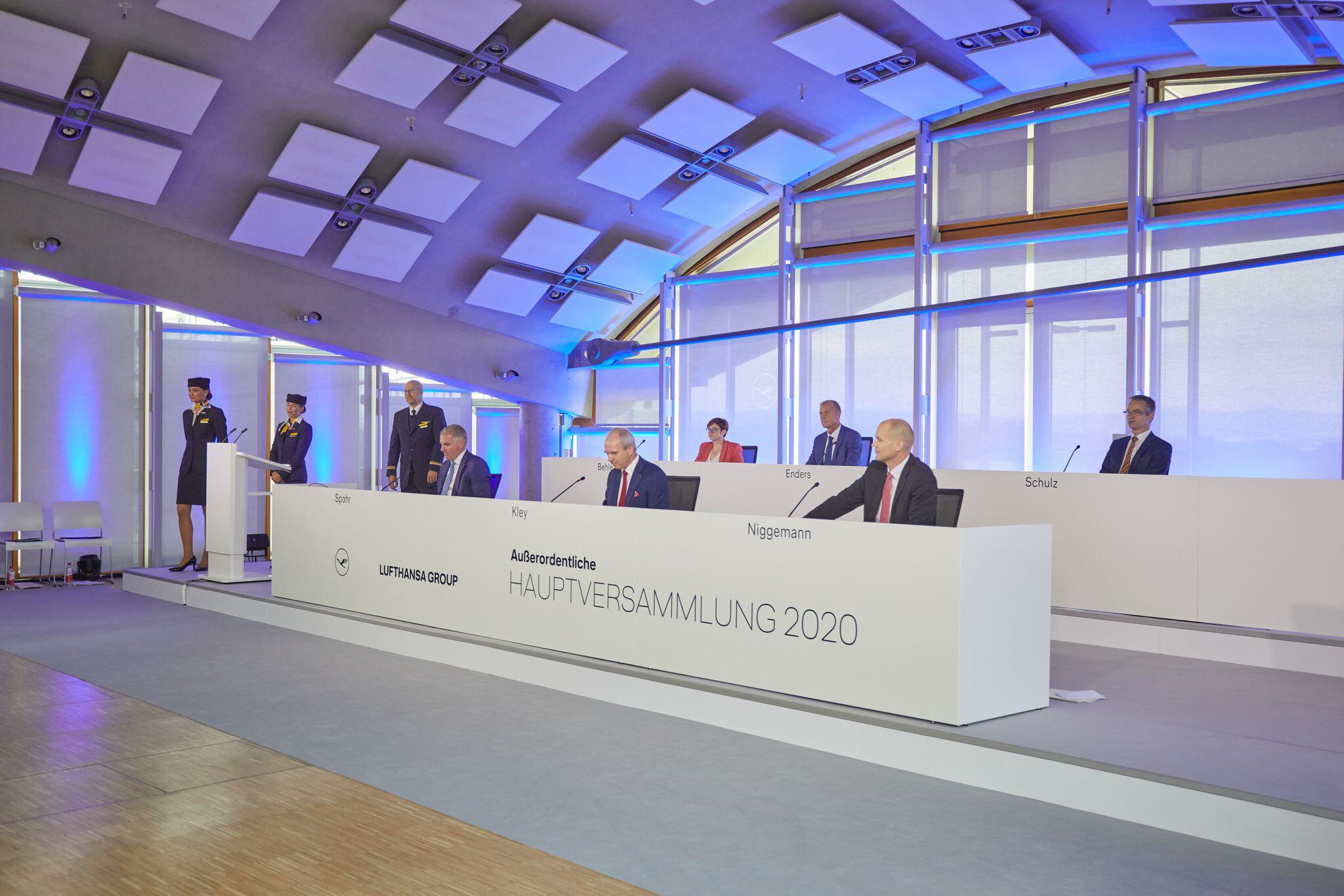 Bild zu Außerordentliche Hauptversammlung der Deutschen Lufthansa AG