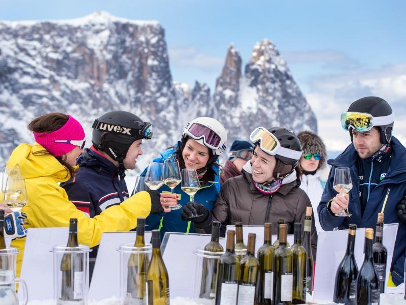 Bild zu Weinverkostung auf der Seiser Alm