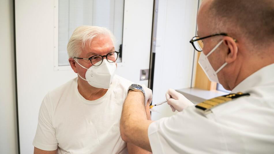 Coronavirus - Impfung Bundespräsident