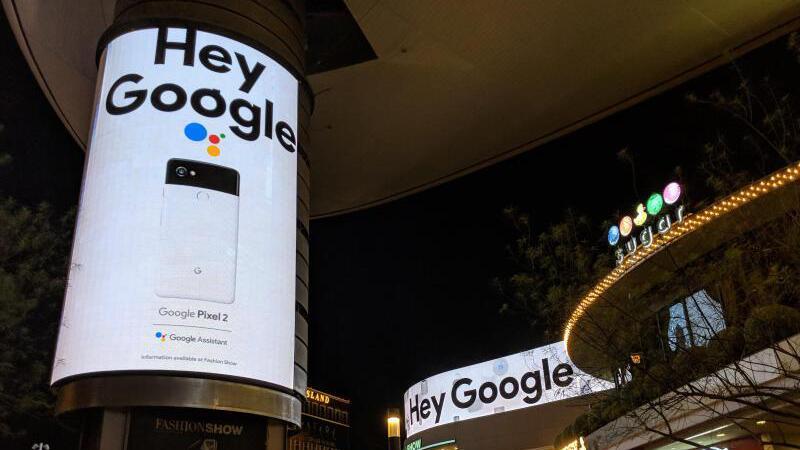 «Hey Google»
